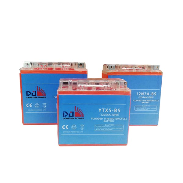 Dongjin Conventional Flooded Motorcycle Battery